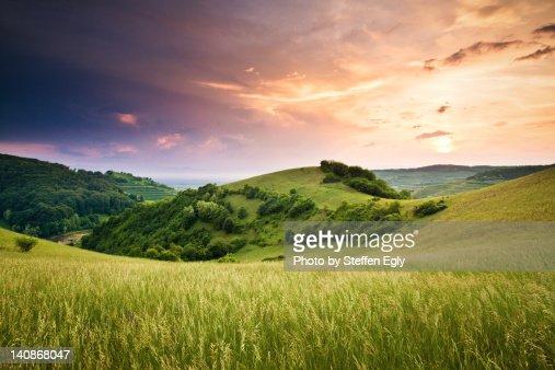Kaiserstuhl sunset