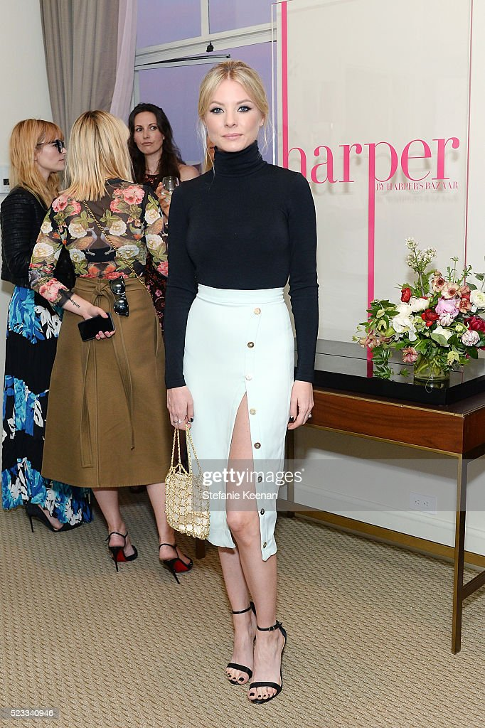 Kaitlin Doubleday attends harper x Harper's BAZAAR May Issue Event Hosted By Hailee Steinfeld And Laura Brown at Sunset Tower Hotel on April 22 2016...