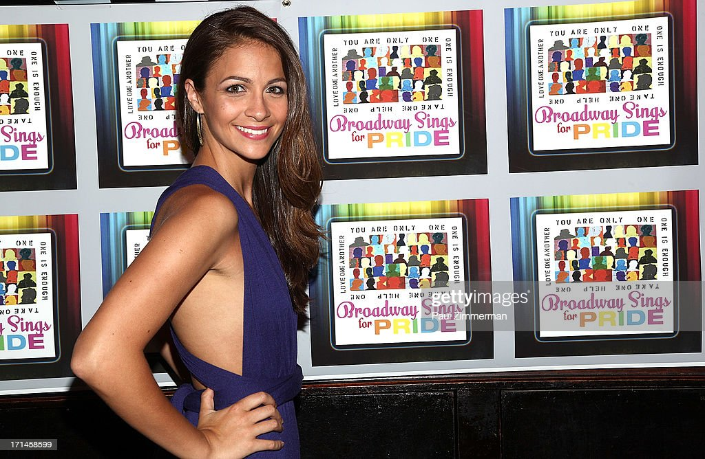 Kaitlin Monte attends Broadway Sings For Pride NYC 2013 Benefit at Iguana on June 24, 2013 in New York City.