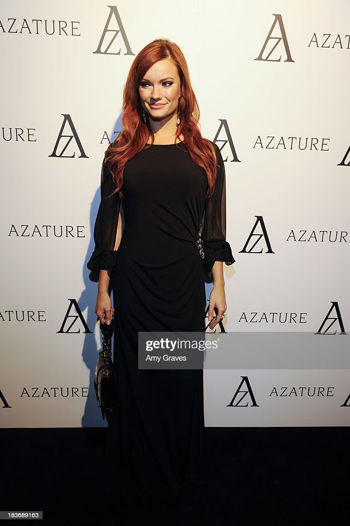 Kaitlin O'Connor attends the Black Diamond Affair Presented by Azature at Sunset Tower on October 8, 2013 in West Hollywood, California.