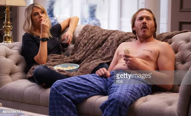 Kaitlin Olson and Scott MacArthur in the 'The Condom' episode of THE MICK airing Tuesday Jan 17 831901 PM ET/PT on FOX