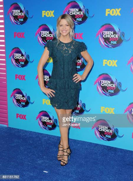 Kaitlin Olson attends the Teen Choice Awards 2017 at Galen Center on August 13 2017 in Los Angeles California