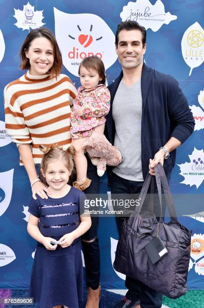 Kaitlin Vilasuso Jordi Vilasuso and children attend Diono Presents Inaugural A Day of Thanks and Giving Event at The Beverly Hilton Hotel on November...