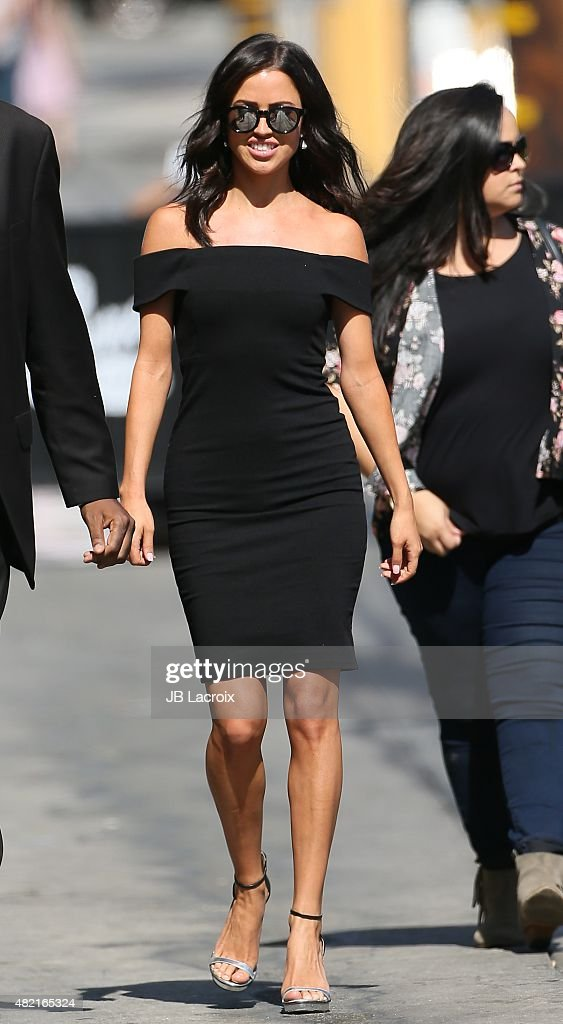 Kaitlyn Bristowe is seen at the 'Jimmy Kimmel Live' show on July 27, 2015 in Los Angeles, California.