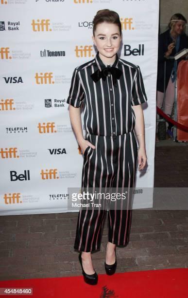 Kaitlyn Dever arrives at the premiere of Men Women and Children held during the 2014 Toronto International Film Festival Day 3 on September 6 2014 in...