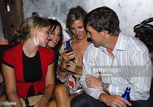 Kaitlyn EisnerPoor Nicole Diehl Abby McGraw and Eli Manning