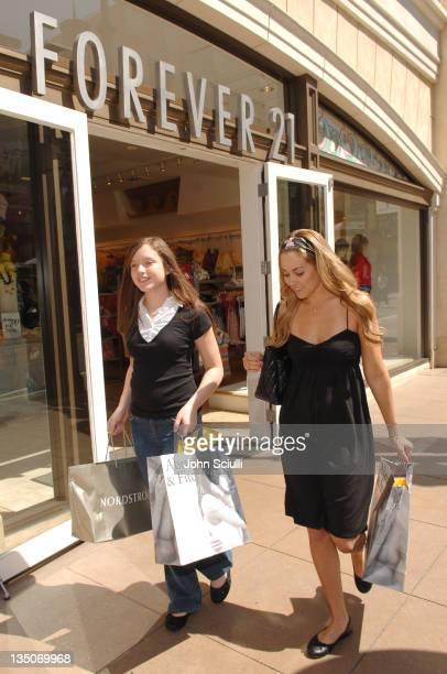 Kaitlyn Worrell Hasbro contest winner shopping with Lauren Conrad