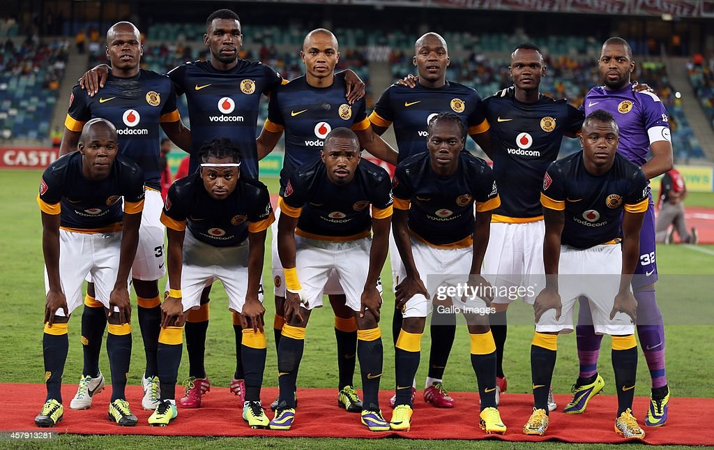 Kaizer Chiefs during the Absa Premiership match between Golden Arrows and Kaizer Chiefs at Moses Mabhida Stadium on December 19, 2013 in Durban, South Africa.