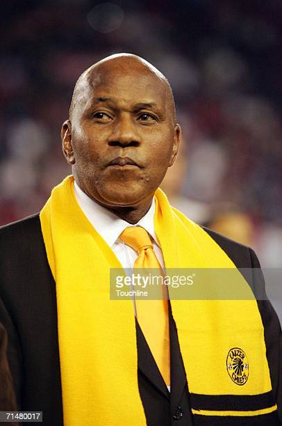 Kaizer Motaung of the Kaizer Chiefs during the Vodacom Challenge match against Manchester United at Newlands Stadium July 18 2006 in Cape Town South...