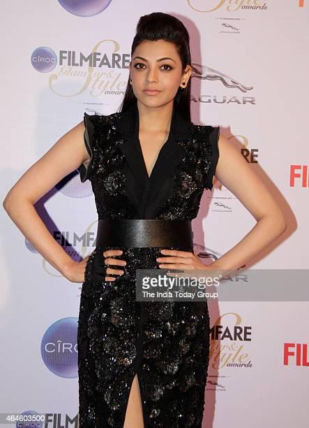 Kajal Aggarwal at Ciroc Filmfare Glamour and style awards in Mumbai