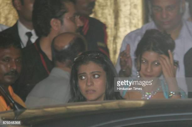 Kajol at the wedding of Aishwarya and Abhishek Bachchan