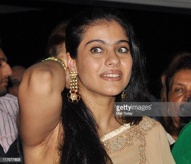 Kajol Devgan during The PidiliteCPAA charity fashion show in support of cancer patients at Hotel Intercontinental Lalit Mumbai Mumbai on June 19 2011