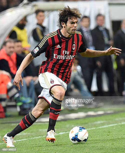 Kakà of AC Milan in action during the Serie A match between AC Milan and FC Internazionale Milano at Stadio Giuseppe Meazza on May 4 2014 in Milan...