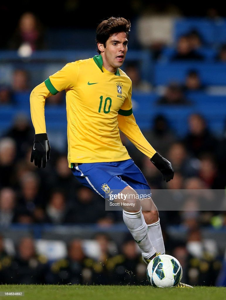 Kaka of Brazil during an International Friendly between Brazil and Russia at Stamford Bridge on March 25, 2013 in London, England.