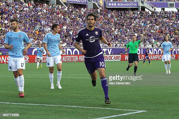 Kaka of Orlando City SC is seen during an MLS soccer match between the New York City FC and the Orlando City SC at the Orlando Citrus Bowl on March 8...