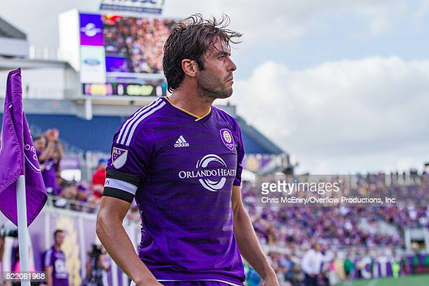 Kaka of the Orlando City Lions vs New England Revolution at the Citrus Bowl in Orlando Florida on April 17 2016