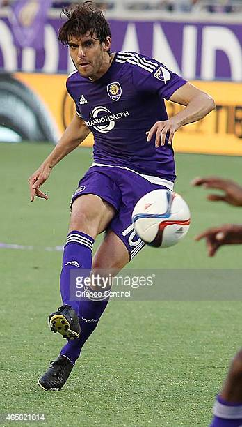 Kaka scores a gametying goal during the MLS match between New York City SC and Orlando City SC on Sunday March 8 at the Citrus Bowl in Orlando Fla...