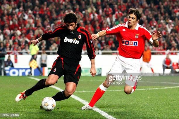 Kakha KALADZE / Nuno GOMES Benfica / Milan AC Champions League 2007/2008