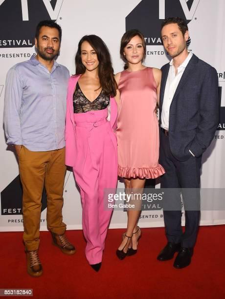 Kal Penn Maggie Q Italia Ricci and Paulo Costanzo attend the Tribeca TV Festival season premiere of Designated Survivor at Cinepolis Chelsea on...
