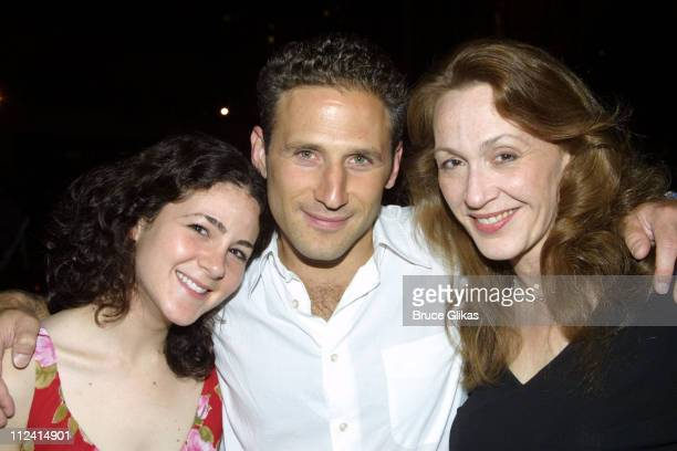 Kala Savage Mark Feuerstein and Jan Maxwell during After Party for the Opening of 'A Bad Friend' by Jules Feiffer at Lincoln Center Beaumont...