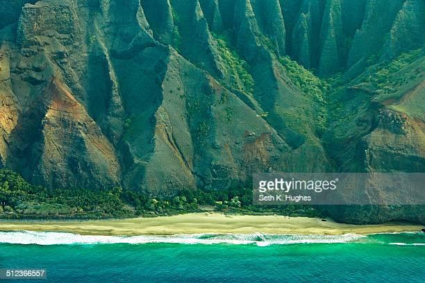 Kalalau Beach, Na Pali Coast, Kaua'i, Hawaii, USA
