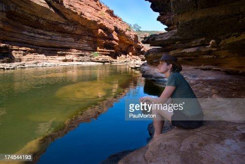 Garganta de Kalbarri, Australia occidental