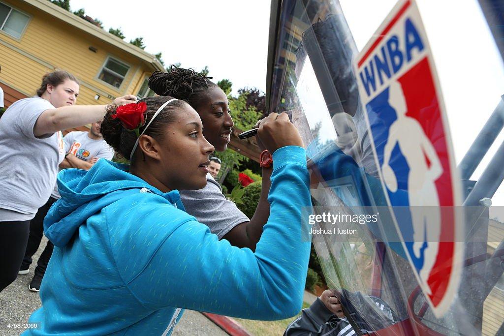 2015 WNBA Cares Events