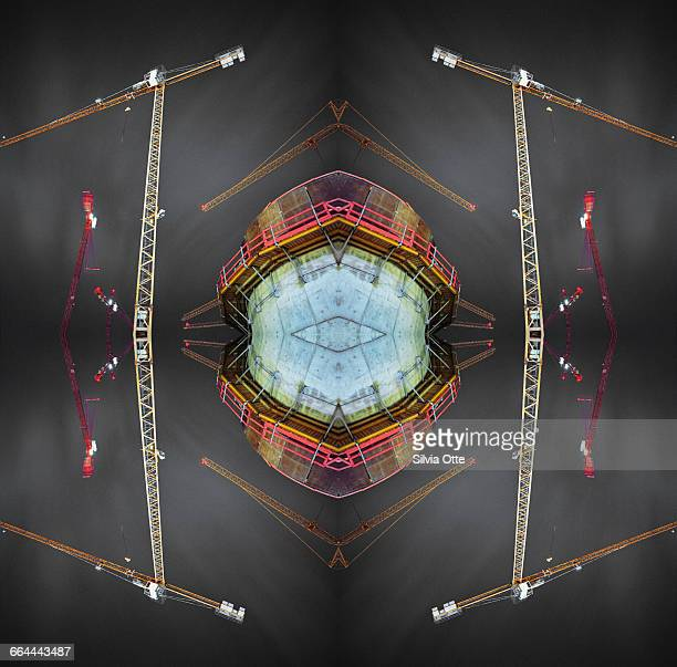 Kaleidoscope Construction Cranes