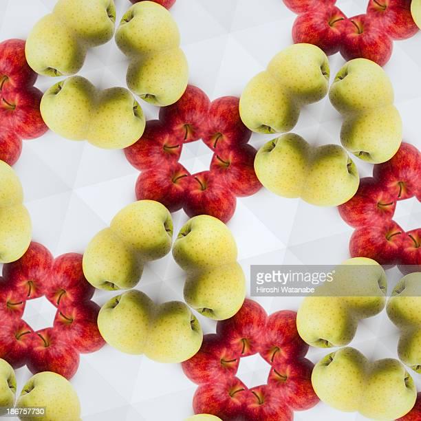 Kaleidoscope of apples