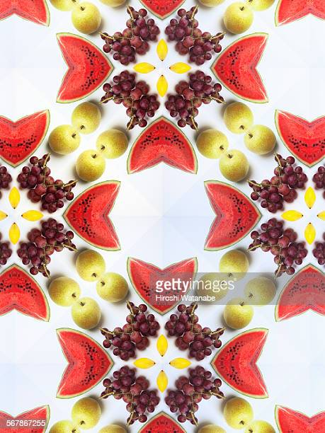 Kaleidoscope of Fruits