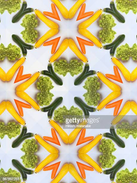 Kaleidoscope of Vegetables