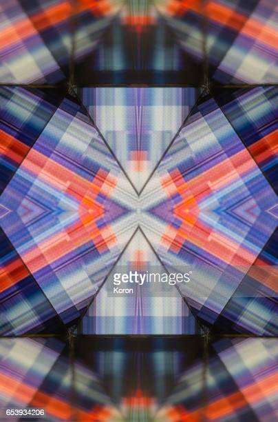 Kaleidoscopic glitch