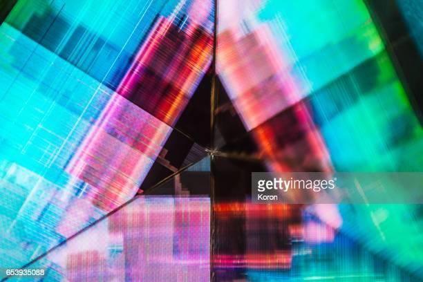 Kaleidoscopic glitch