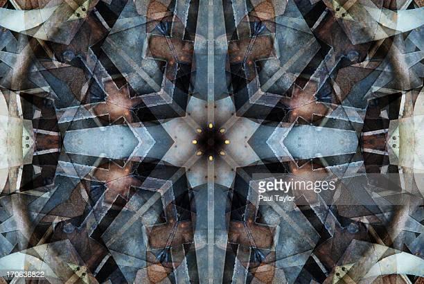 Kaleidoscopic view of Metal