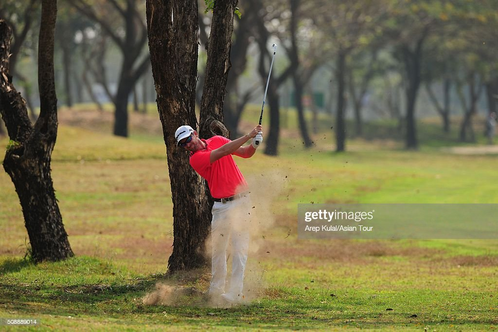 Kalem Richardson of Australia pictured during the final round of the Leopalace21 Myanmar Open at Royal Mingalardon Golf and Country Club on February 7, 2016 in Yangon, Myanmar.