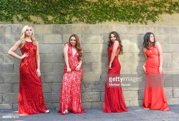 Kalen Bull Julie Frohman Ciara A Wilson and Amber Romero attend Celebrity Stylist Ali Levine Dresses Today's Influencers For Prom/Spring Fling Event...