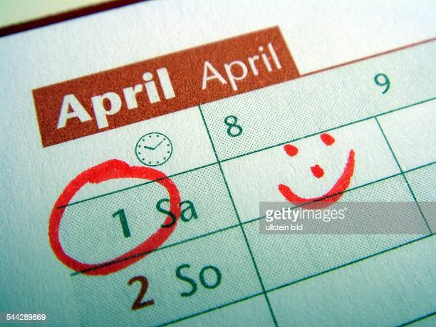 Kalendertage Erster April