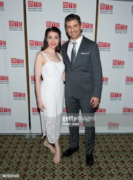Kaley Ann Voorhees and Tony Yazbeck attend during the Manhattan Theatre Club Spring Gala 2017 at Cipriani 42nd Street on May 22 2017 in New York City