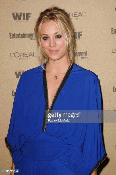 Kaley Cuoco attend The 2010 Entertainment Weekly and Women In Film PreEmmy Party Sponsored by L'Oreal Paris at The Sunset Marquis Hotel on August...