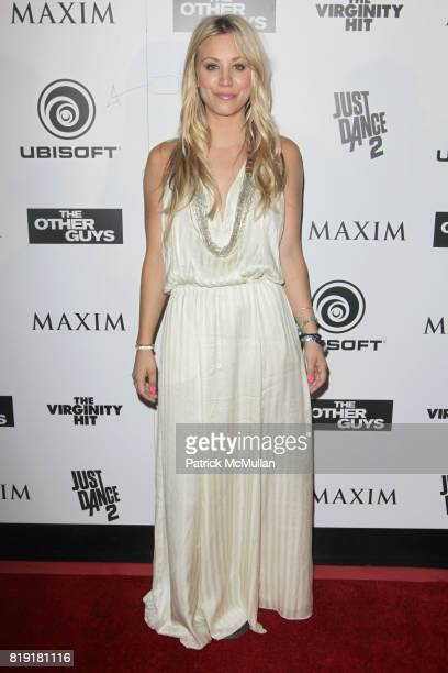 Kaley Cuoco attends Maxim Celebrates The Other Guys at Comic Con 2010 Presented by Ubisoft at Hotel Solamar on July 23 2010 in San Diego California