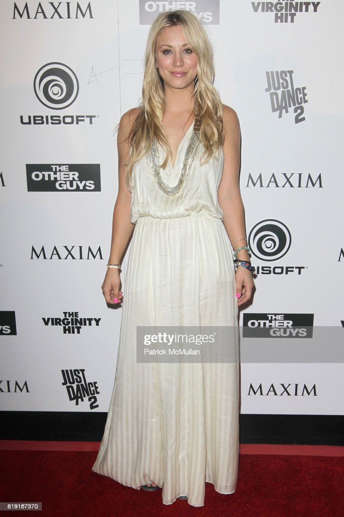 Kaley Cuoco attends Maxim Celebrates The Other Guys at Comic Con Presented by Ubisoft at San Diego on July 24, 2010.