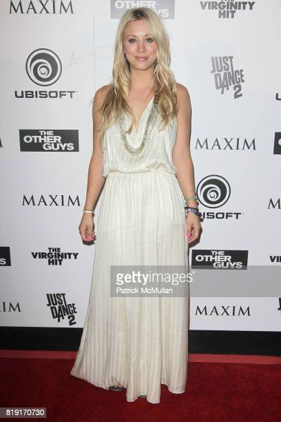 Kaley Cuoco attends Maxim Celebrates The Other Guys at Comic Con Presented by Ubisoft at San Diego on July 24 2010