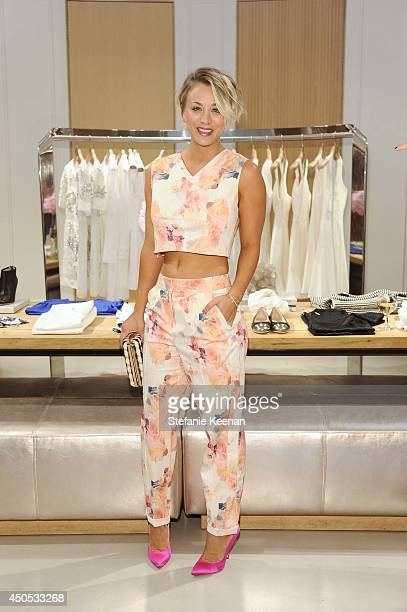 Kaley Cuoco attends Rebecca Taylor Sarah Michelle Gellar Tara Swennen Celebrate The Launch Of The Little White Dress Capsule Collection Benefitting...