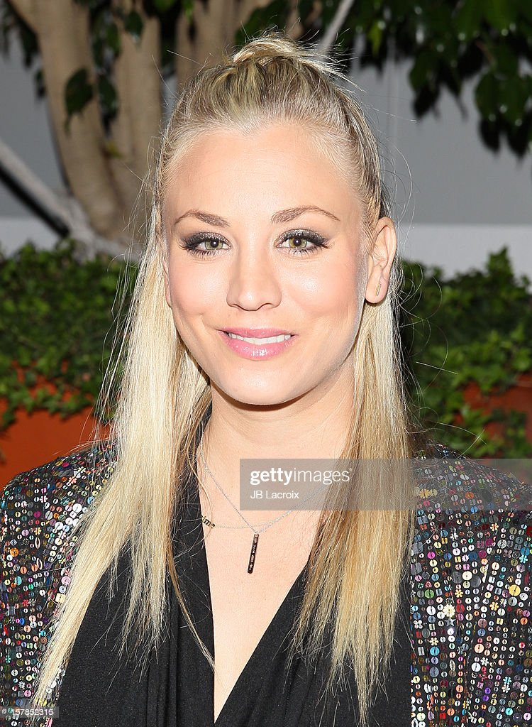 Kaley Cuoco attends the Voli Light Vodka Benefit at SkyBar at the Mondrian Los Angeles on December 6, 2012 in West Hollywood, California.