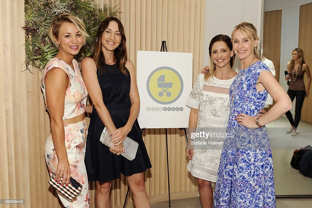 <a gi-track='captionPersonalityLinkClicked' href=/galleries/search?phrase=Kaley+Cuoco&family=editorial&specificpeople=208988 ng-click='$event.stopPropagation()'>Kaley Cuoco</a>, <a gi-track='captionPersonalityLinkClicked' href=/galleries/search?phrase=Bree+Turner&family=editorial&specificpeople=233811 ng-click='$event.stopPropagation()'>Bree Turner</a>, <a gi-track='captionPersonalityLinkClicked' href=/galleries/search?phrase=Sarah+Michelle+Gellar&family=editorial&specificpeople=201781 ng-click='$event.stopPropagation()'>Sarah Michelle Gellar</a> and <a gi-track='captionPersonalityLinkClicked' href=/galleries/search?phrase=Rebecca+Taylor+-+Fashion+Designer&family=editorial&specificpeople=4496766 ng-click='$event.stopPropagation()'>Rebecca Taylor</a> <a gi-track='captionPersonalityLinkClicked' href=/galleries/search?phrase=Rebecca+Taylor+-+Fashion+Designer&family=editorial&specificpeople=4496766 ng-click='$event.stopPropagation()'>Rebecca Taylor</a>, <a gi-track='captionPersonalityLinkClicked' href=/galleries/search?phrase=Sarah+Michelle+Gellar&family=editorial&specificpeople=201781 ng-click='$event.stopPropagation()'>Sarah Michelle Gellar</a> & Tara Swennen Celebrate The Launch Of The Little White Dress Capsule Collection Benefitting Baby Buggy at <a gi-track='captionPersonalityLinkClicked' href=/galleries/search?phrase=Rebecca+Taylor+-+Fashion+Designer&family=editorial&specificpeople=4496766 ng-click='$event.stopPropagation()'>Rebecca Taylor</a> on June 12, 2014 in Los Angeles, California.