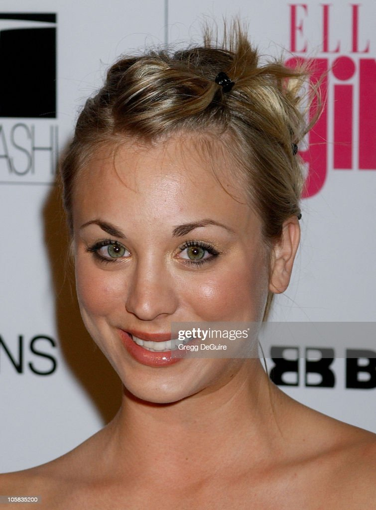 Kaley Cuoco during ELLEGIRL's 1st Annual Hollywood Prom - Arrivals at Hollywood Athletic Club in Hollywood, California, United States.