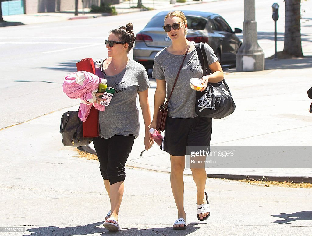 Kaley Cuoco is seen on May 02, 2016 in Los Angeles, California.