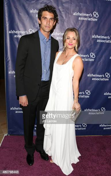 Kaley CuocoSweeting and Ryan Sweeting attend 'A Night At Sardi's' To Benefit The Alzheimer's Association held at the Beverly Hitlon Hotel on March 26...