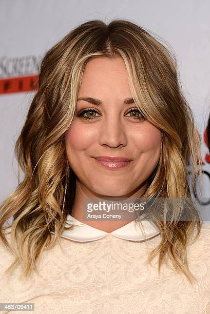 Kaley CuocoSweeting attends the premiere of Screen Media Films' 'Authors Anonymous' at Crest Theatre on April 9 2014 in Westwood California