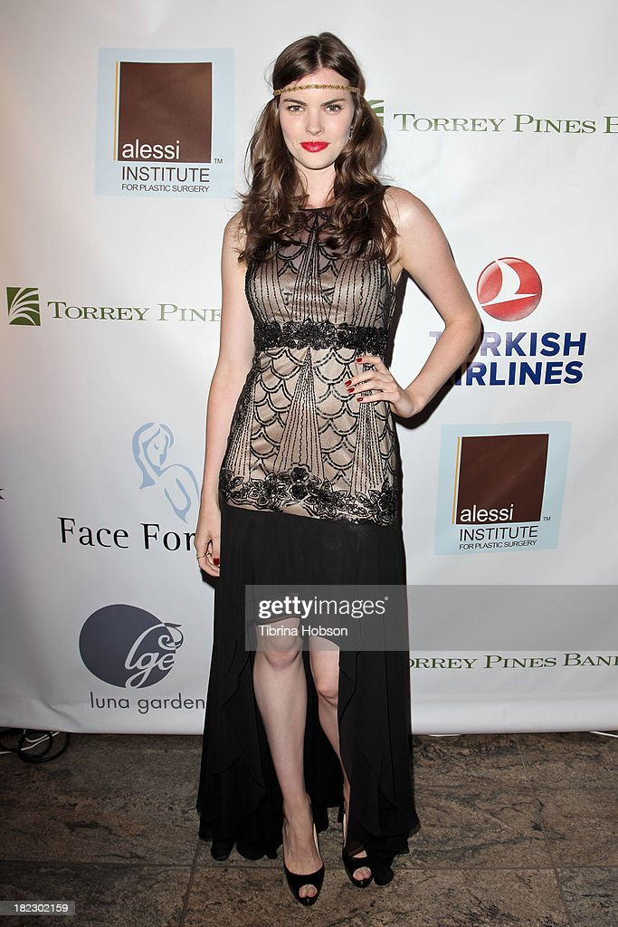 Kaley Ronayne attends the 4th annual Face Forward LA Gala at Fairmont Miramar Hotel on September 28, 2013 in Santa Monica, California.